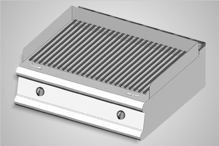 Baron grill gas bench top lava rock 700 Series - Model 7GLT/G800