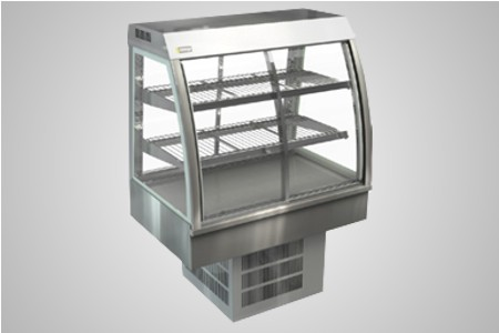 Cossiga counter series cold food display - Model CC5RF9