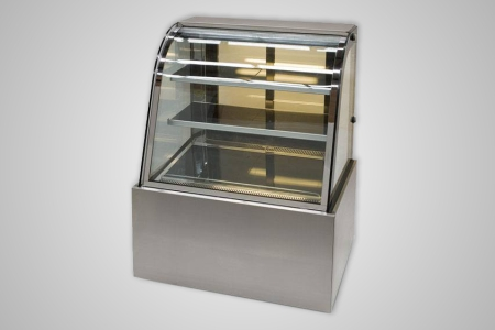 Anvil hot food display curved profile 900mm � Model DHC0730