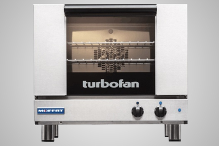 Turbofan electric convection oven - Model E22M3