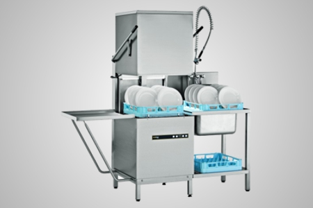Hobart dishwasher pass through - Model ECOMAX602