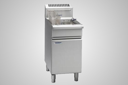 Waldorf gas single pan deep fryer - Model FN8120G