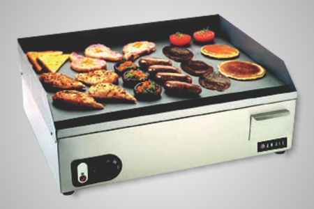 Anvil griddle flat top 600mm - Model FTA0600