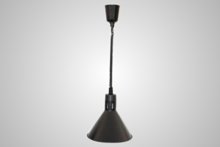 Heat Lamp Connie black pull down � Model HLH0560B