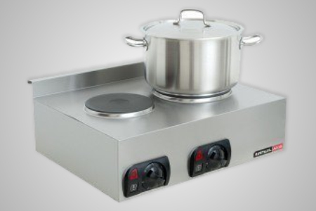 Anvil double electric stove top � Model STA0002
