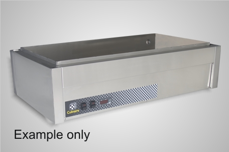 Culinaire bain marie 5 module under bench - Model CH.CBM5.U