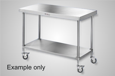 Simply Stainless 700 Series mobile work bench - Model SSS03-7-0900