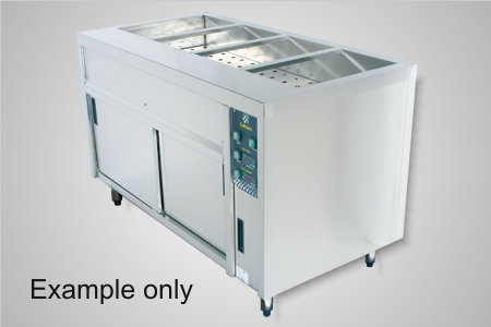 Culinaire bain marie hot cupboard 3 module - Model CMBH3.U