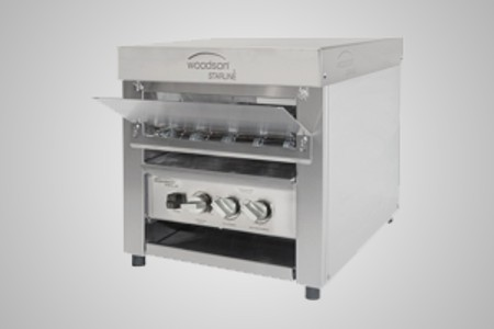 Woodson TT3 metal element conveyor toaster - Model W.CVT.T.10
