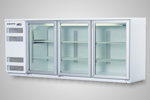 Skope fridge 3 door back bar - Model BB580 3SW