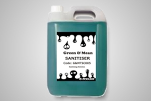 Green & Mean 5 litre bench sanitiser - Code G&MTSC005