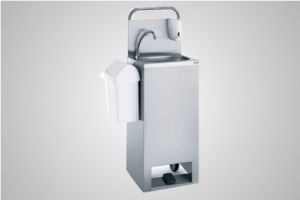 Tournus mobile hand wash basin with hot water - Model 806519