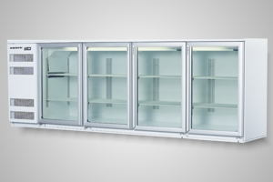 Skope fridge 4 door back bar - Model BB780 4SW