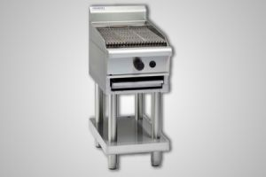 Waldorf gas 450 char grill on leg stand - Model CH8450G-LS