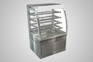 Cossiga curved heated cabinet - Model CD5HT9
