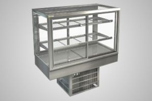 Cossiga counter square refrigerated display - Model STGRF12