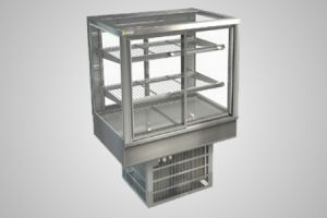 Cossiga counter square refrigerated display - Model STGRF9