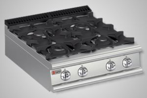 Baron cooktop 4 burner 700 series - Model 7PC/G8005