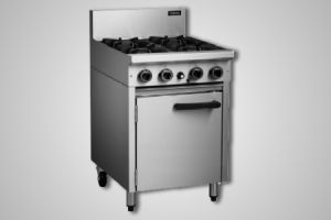 Cobra 600mm griddle gas static oven - Model CR6B