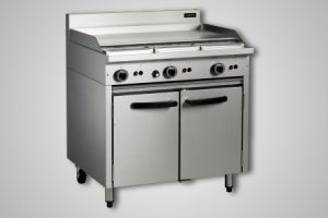 Cobra 900mm griddle gas static oven - Model CR9A