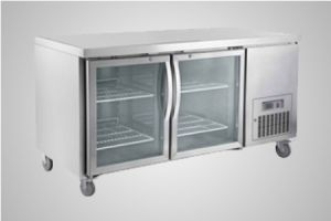 Saltas 2 glass door undercounter fridge – Model CUG1500