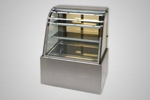 Anvil hot food display curved profile 1500mm – Model DHC0750