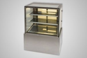 Anvil hot food display square profile 900mm – Model DHV0730