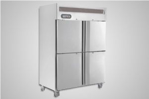 Saltas fridge double split door upright – Model EUS1142