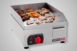 Anvil griddle flat top 400mm - Model FTA0400