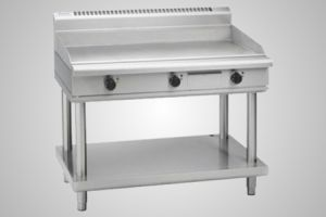 Waldorf griddle on leg stand - Model GP8120G-LS