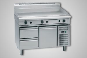 Waldorf 1200mm griddle refrigerated base model - Model GP8120G-RB