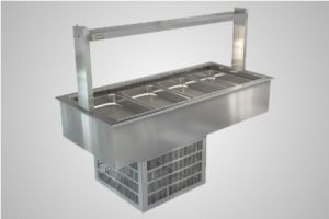 Cossiga linear series refrigerated well - Model LSRF4