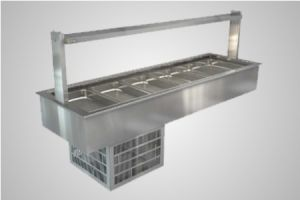 Cossiga linear series refrigerated well - Model LSRF6