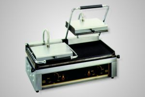 Roller Grill Contact Grill/High Speed Grill - Model Majestic-GF (flat bottom plate)