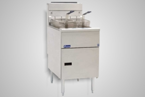 Pitco fryer single pan gas wide body high performance - Model SG18S