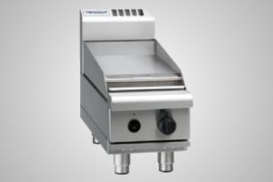 Waldorf gas griddle 300mm bench - Model RN8203G-B