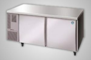 Hoshizaki counter fridge 2 door - Model RTC-150-MNA