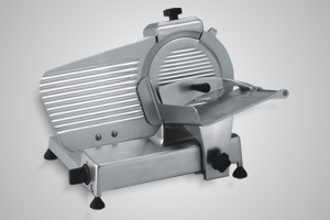 Rheninghaus slicer 250mm blade belt driven light duty - Model SSR0250