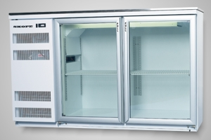 Skope fridge 2 door back bar - Model BB380 2SW