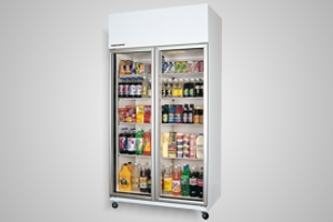 Skope fridge - 2 door upright - Model TME1000