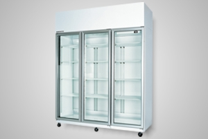 Skope fridge - 3 door upright - Model TME1500