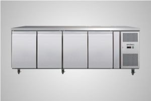 Bromic 4 solid door underbench chiller 553 Litre - Model UBC2230SD