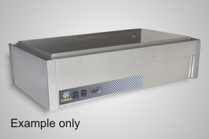 Culinaire bain marie 3 module under bench - Model CH.CBM3.U