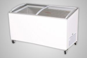 Bromic chest freezer angled glass top 555 litre - Model CF0600ATCG