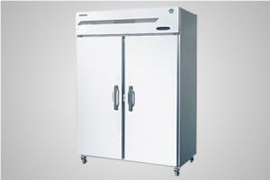 Hoshizaki upright reach in refrigerator 2 door - Model HRE-140B