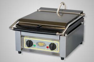 Roller Grill Contact Grill/High Speed Grill - Model Panini-XL-F (flat plates)