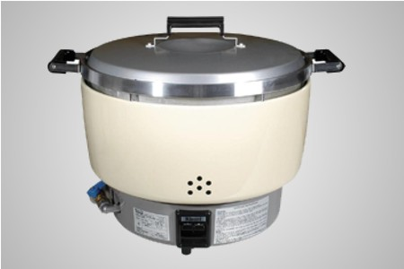 Rinnai gas rice cooker - Natural gas or LPG