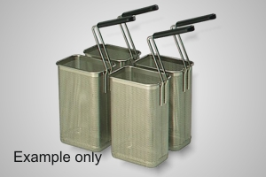 Baron pasta cooking baskets (4 x 1/6) - Model 7A