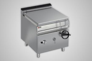 Baron bratt pan gas 60 litre capacity - Model 7BR/G80