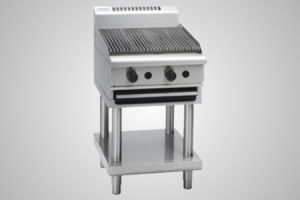 Waldorf gas 600 char grill on leg stand - Model CH8600G-LS